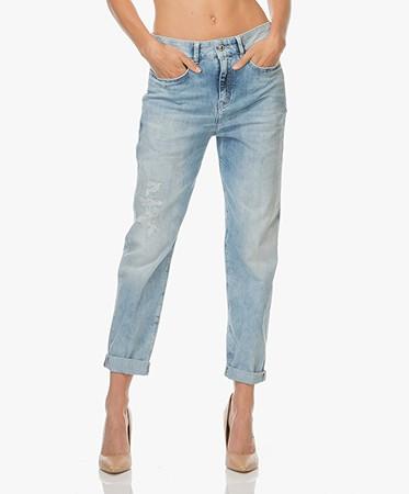 Drykorn - Drykorn Buzz Boyfriend Jeans - Lichtblauw