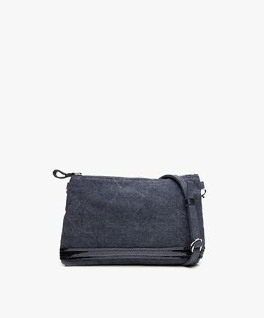 vanessa bruno cabas linen schoulder bag denim cabas sac 0pve31 v41071 893. Black Bedroom Furniture Sets. Home Design Ideas
