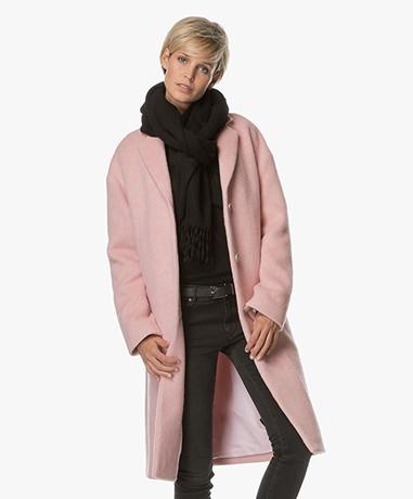 Filippa K Parker Plush Wool Jas - Powder Pink