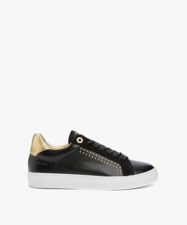 Zadig et Voltaire Skulls Sneakers - Zwart/Goud