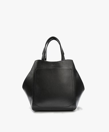 Filippa K Shelby Mini Bucket Leather Bag - Zwart