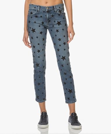 Current/Elliott The Fling Printed Jeans - Flocked Star