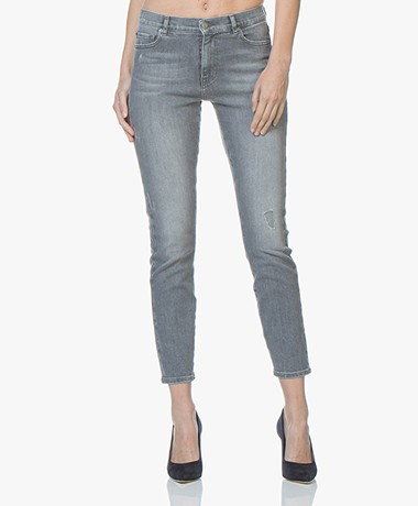 BOSS J21 Roseville Slim-fit Jeans - Medium Grey
