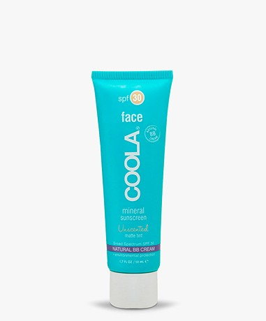 COOLA Mineral Face Organic Matte Tint Sunscreen Lotion SPF 30 - Beige