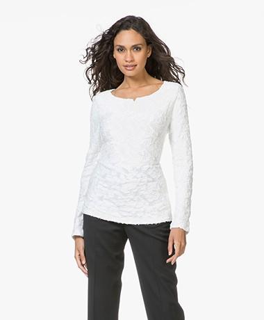Josephine & Co Lara Ausbrenner Long Sleeve - White