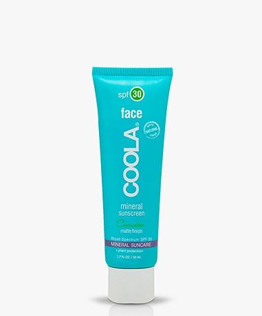 COOLA Mineral Face Sunscreen SPF 30 - Cucumber