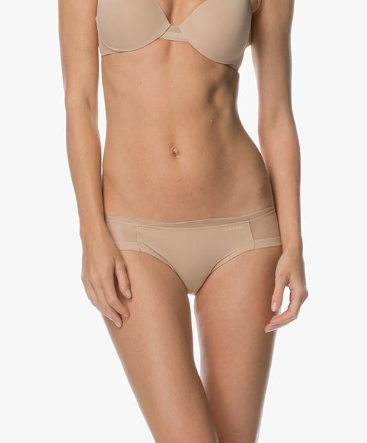 f904b9a1e1 Home  »  panties  »  brief · Calvin Klein Lingerie. Sculpted Mesh Briefs  Bare