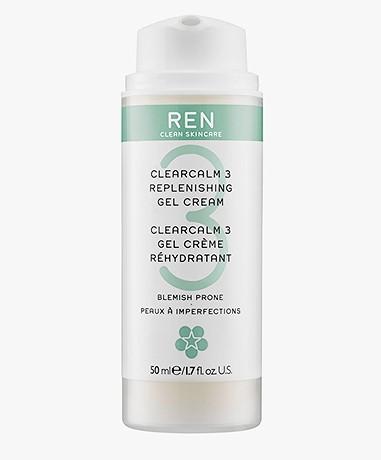 REN Clean Skincare ClearCalm 3 Replenishing Gel Cream