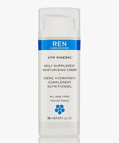REN Clean Skincare Vita Mineral Daily Supplement Moisturising Cream
