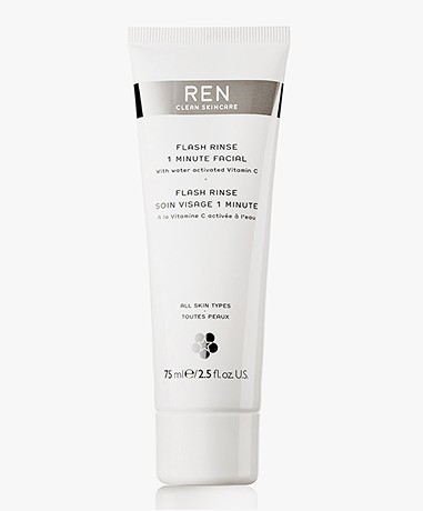 REN Clean Skincare Flash Rinse 1 Minute Facial