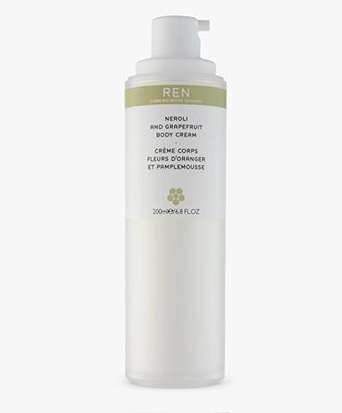 REN Clean Skincare Neroli and Grapefruit Body Cream