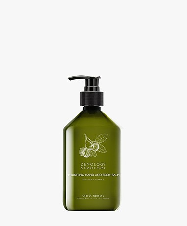 Zenology Hand & Body Balm Mandarin Green Tea - Citrus Nobilis