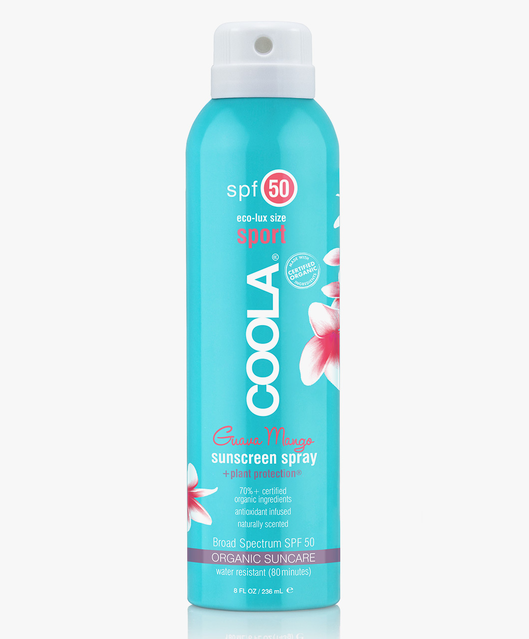 Afbeelding van Coola Body Sunscreen Spray SPF 50 Guava Mango 236ml