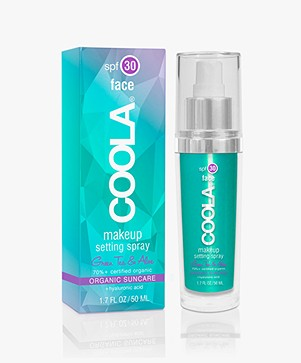 COOLA Makeup Setting Spray SPF 30 - Green Tea
