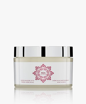 REN Clean Skincare Moroccan Rose Otto Firming Crème