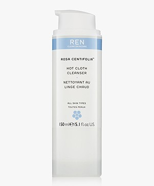 REN Clean Skincare Rosa Centefolia Hot Cloth Cleanser