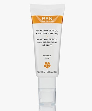 REN Clean Skincare Wake Wonderful Night - Time Facial