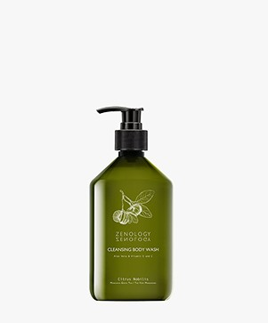 Zenology Cleansing Body Wash Mandarin Green Tea - Citrus Nobilis