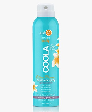 COOLA Sunscreen Spray Body SPF 30 - Citrus Mimosa