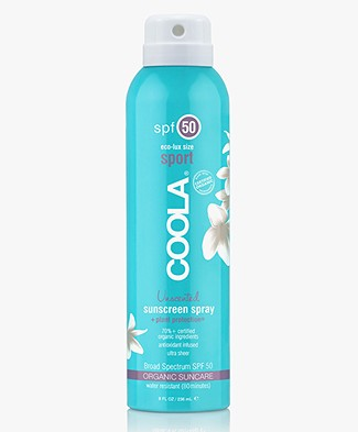 COOLA Sunscreen Spray Body SPF 50 236ml - Unscented
