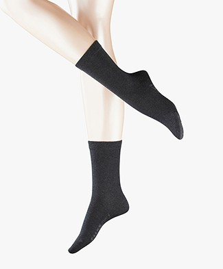 FALKE Family Anklet Socks - Grey