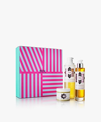 REN Clean Skincare Luxury Moroccan Rose Cadeauset