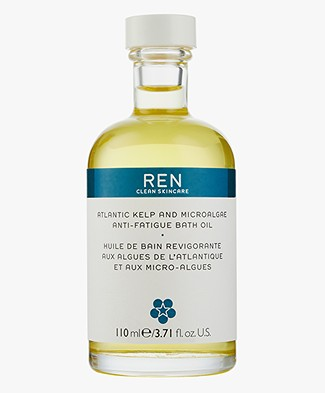 REN Clean Skincare Atlantic Kelp and Magnesium Bath Oil - 110ml