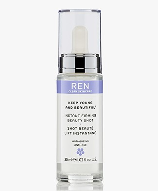 REN Clean Skincare Instant Firming Beauty Shot - Keep Young and Beautiful
