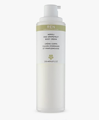 REN Clean Skincare Neroli and Grapefruit Body Cream