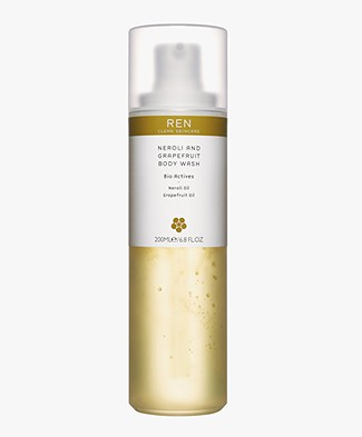 REN Clean Skincare Neroli and Grapefruit Body Wash