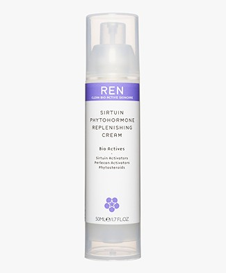 REN Clean Skincare Sirtuin Phytohormone Replenishing Cream
