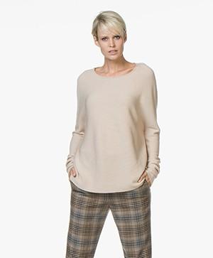 Drykorn Milty Ribgebreide Pullover - Beige