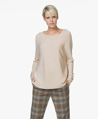 Drykorn Milty Rib Knitted Pullover - Beige