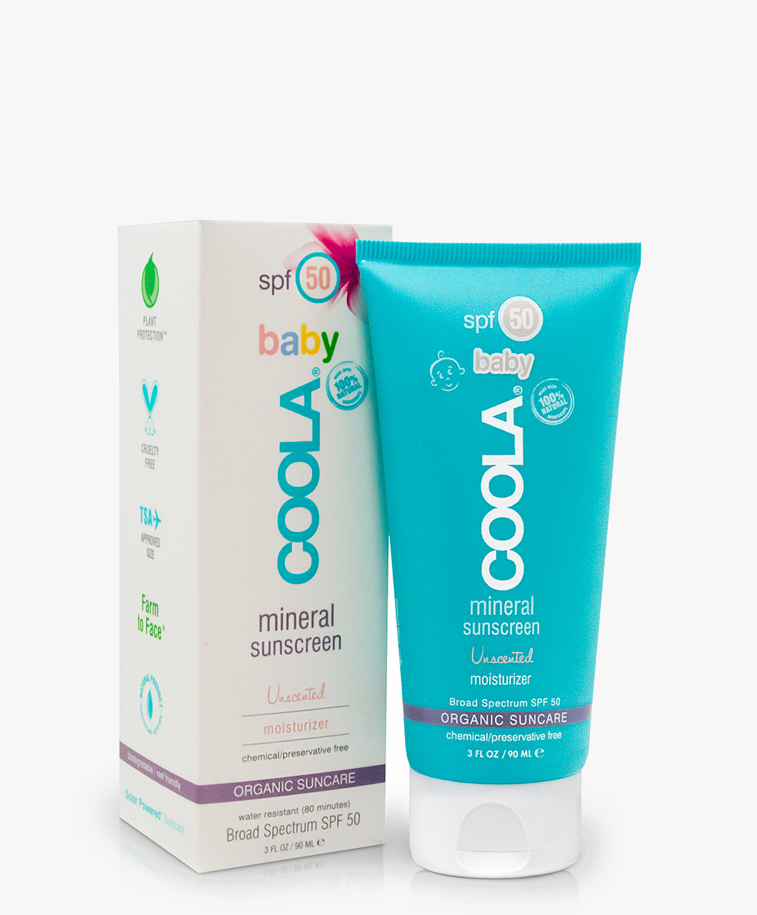 5cf7c36acfd8a6 COOLA Baby Mineral Body Sunscreen SPF 50 - Unscented - 86050 | 00598  unscented