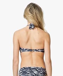 Calvin Klein Bandeau Bikinitop - Zwart/Wit