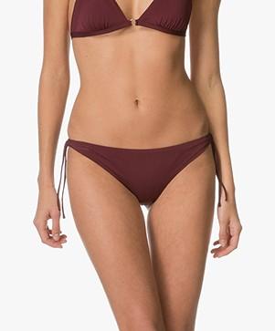 Filippa K Shiny Mini Bikini Bottom -  Mulberry