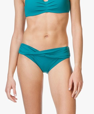 Calvin Klein Wrap Bikini Briefs - Harbour Blue