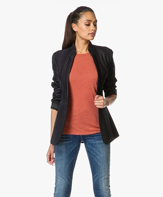 Rag & Bone Quilted Fern Blazer - Black