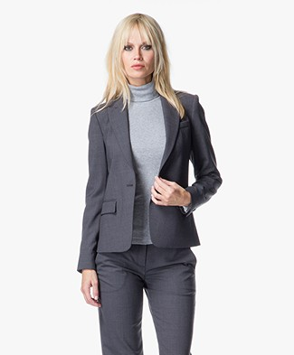 Theory Gabe Blazer in Urban Bi-Stretch