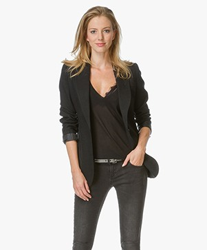 ANINE BING Classic Fit Blazer - Zwart
