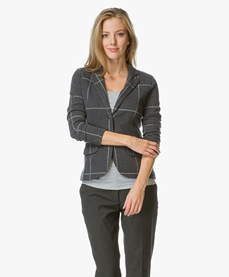 Majestic Cotton-Cashmere Blazer