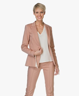 Drykorn Golders Fine Cotton-Stretch Blazer