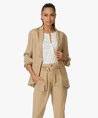 Vanessa Bruno Athé Casual Jacket Gerald - Sable