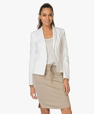 HUGO Afrona Tailored Blazer - Off-white