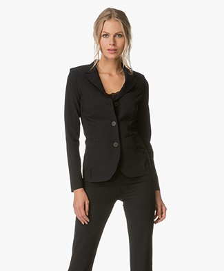 JapanTKY Yuuka Tailored Blazer - Black