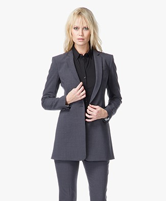 Theory Marcela Blazer in Urban Bi-Stretch