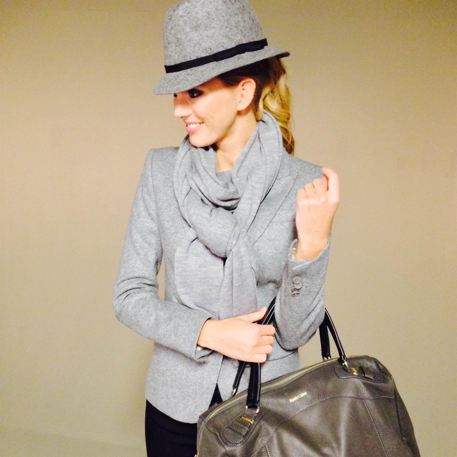 Hoed | Belluna, sjaal | Repeat, blazer | Drykorn