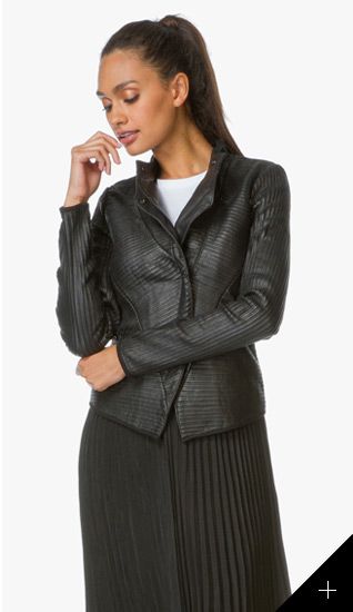 d8eee216300 The black biker jacket is a true classic. This IRO design is worth the  investment! 2. Leather meets minimalism with this Zadig   Voltaire design -  perfect ...