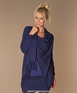 Repeat Wrap Fringe Cardigan