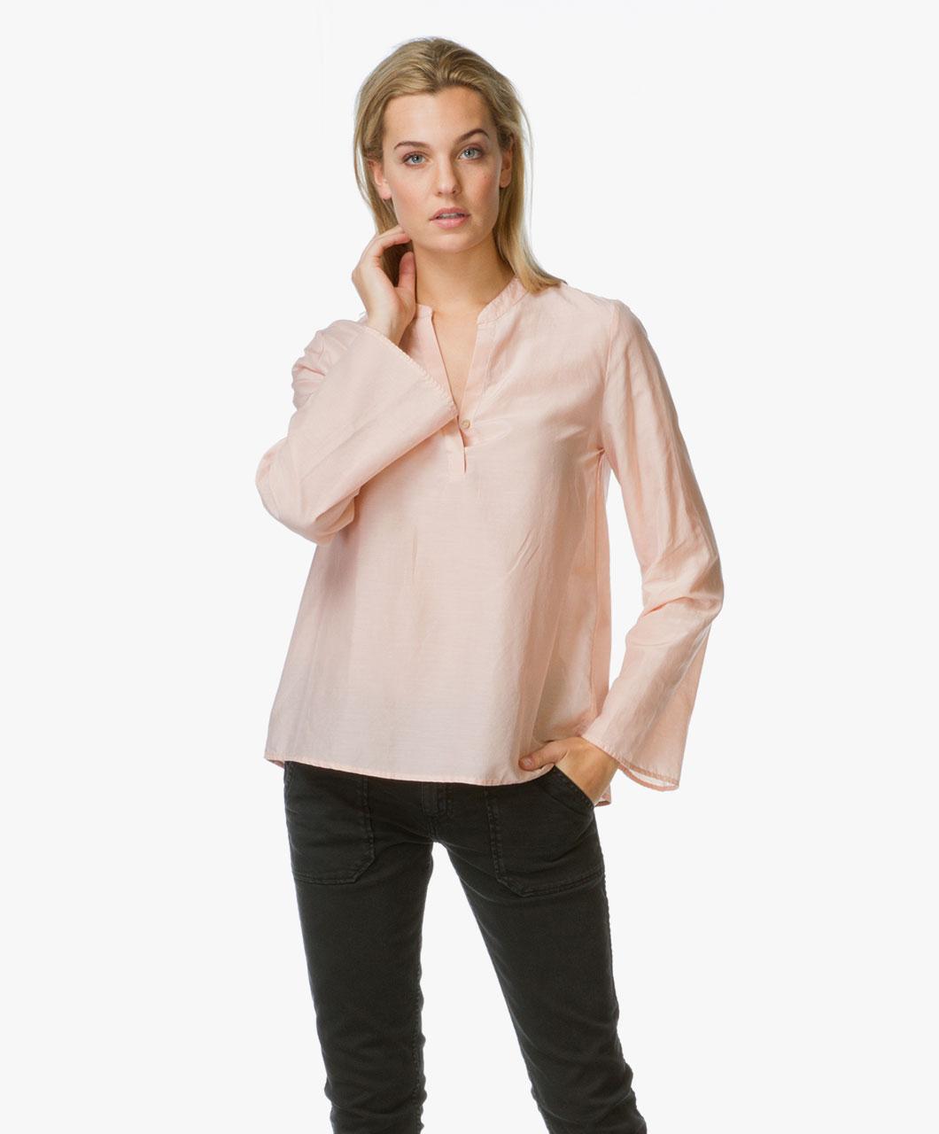 boss orange erini a lijn blouse roze erini 50320261 677 pink. Black Bedroom Furniture Sets. Home Design Ideas
